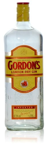 GORDON\'S Dry Gin 1 Liter, 47,3{17f929dbf41b320bb3e980b3d19223938a635c516e092e7b584b9974a3f53f27} vol.