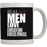 Teeburon Real men love Cavalier King Charles Spaniels Tazza