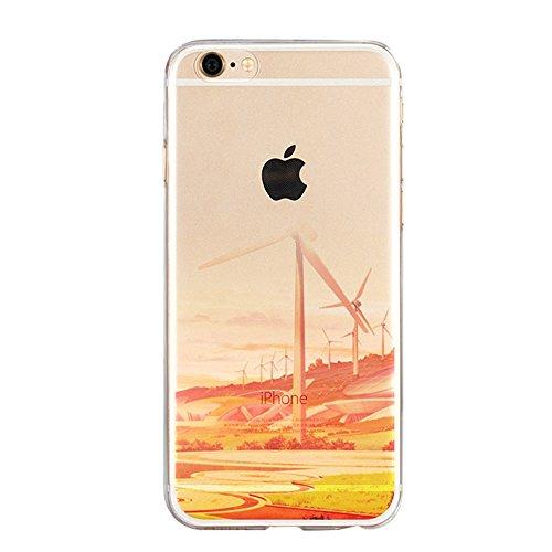iPhone 6 plus Housse iPhone 6 plus Case iPhone 6 plus Coque,Vandot Etui iPhone 6 plus Coque TPU Souple Bumper et PC Plastique Dur Coque Absorption de Choc Bumper et Anti-Scratch Etui Case Cover + Mult Design 6