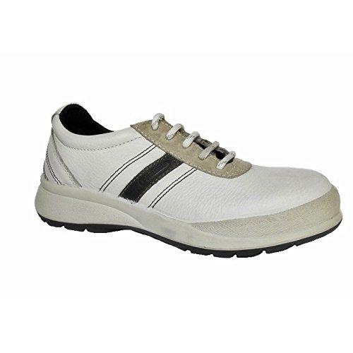 Chaussure de sécurité basse blanche femme Babou Blanc