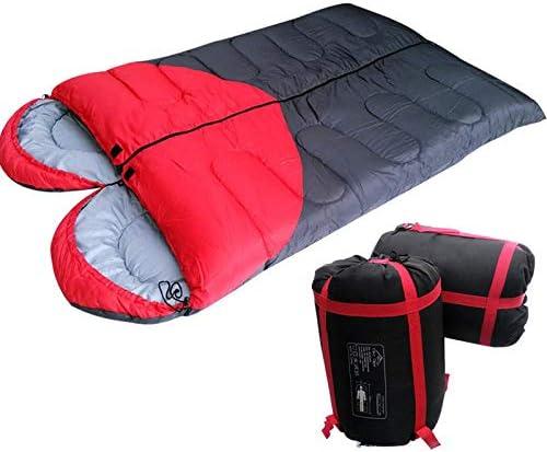 LOLIVEVE Sacco A Pelo da da da Viaggio Double Outdoor Camping Camping Sacco A Pelo Mutuo A Forma di Cuore B07HF5M5H9 Parent   Qualità Eccellente    Le vendite online    Primo gruppo di clienti  610712