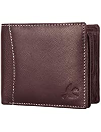 Hornbull Men's Themes Geuine Leather RFID Wallet