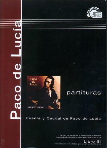 Paco de Lucia scores book 3 fuentey caudal por Paco De Lucia