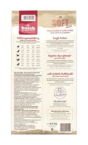 bosch HPC SOFT Maxi Wasserbüffel & Süßkartoffel | halbfeuchtes Hundefutter für ausgewachsene Hunde großer Rassen | Single-Protein | Grain-Free
