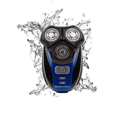 Remington Men's Flex 360 Rotary Electric Head Shaver for Skull and Face, 100 Percent Waterproof with Detail Trimmer - XR1400