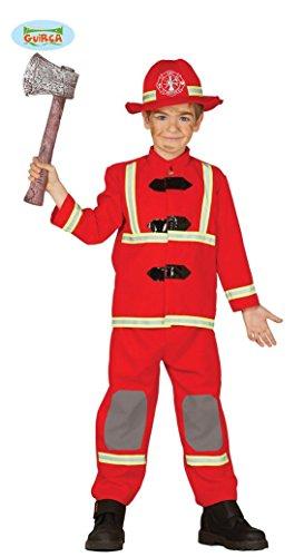 KINDERKOSTÜM - Feuerwehr Junge - Größe 95-100 ( -