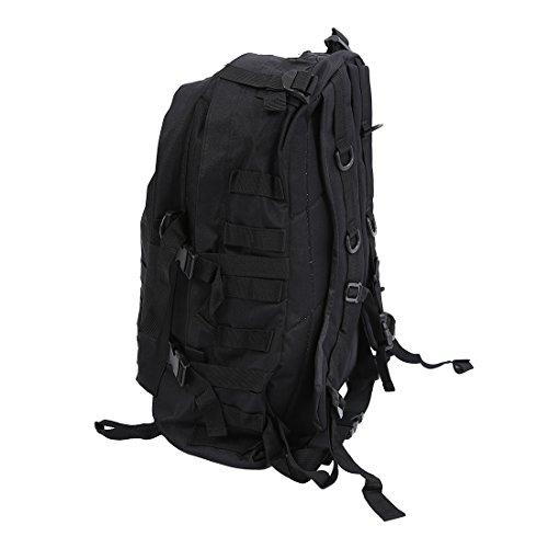 Imagen de   sodial r al aire libre 40l 600d tela de oxford impermeable  bolso tactico del camuflaje de militar de acu de deportes viaje senderismo bolsa de color negro alternativa