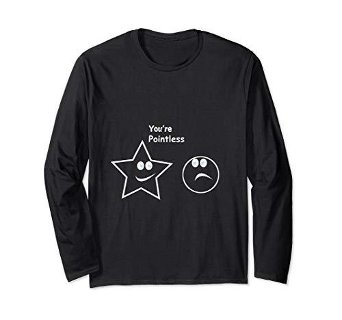 Du Bist Sinnlos Zwecklos Shirt Mathe Nerd lustiges Wortspiel - Mathe Nerd Kostüm