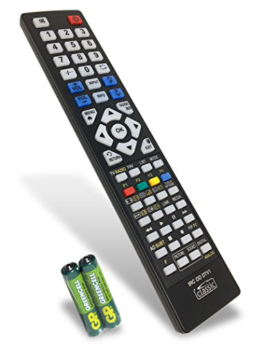 Replacement Remote Control for Hitachi 65HL6T64U (batteries included)