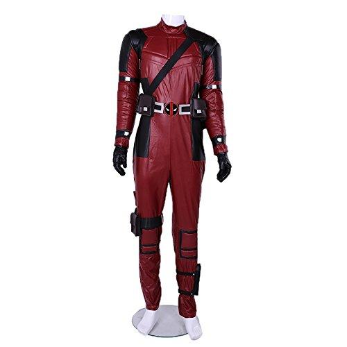 Classic Rot Schwarz Halloween Cosplay Dress Up Kostüm Männlich L ()