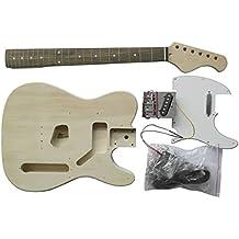 Guitarra eléctrica estilo TE – Kit de bricolaje – Construye tu propia guitarra