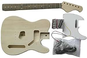 Electric Guitar TE Style - DIY Kit - Build Your Own Guitar