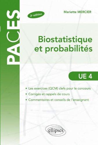 Biostatistiques & Probabilités UE4