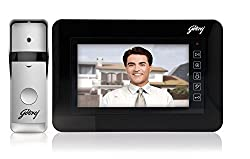 Godrej Solus ST 7 Video Door Phone (Black)