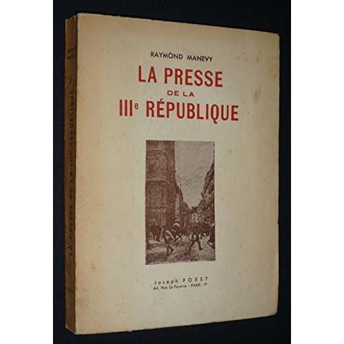 La Presse de la IIIe République