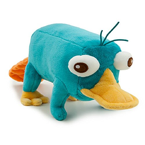 Disney Phineas and Ferb 9 Inch Plush Figure Perry the Palatypus by Disney plush figure PERRY the platypus