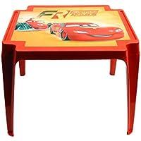 Progarden 945 Cars Tavolo per Bambini 'Cars', 50 x 55 x 45 cm, Rosso