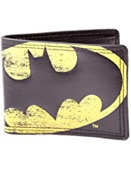 Batman - Cartera para hombre  Hombre Negro negro