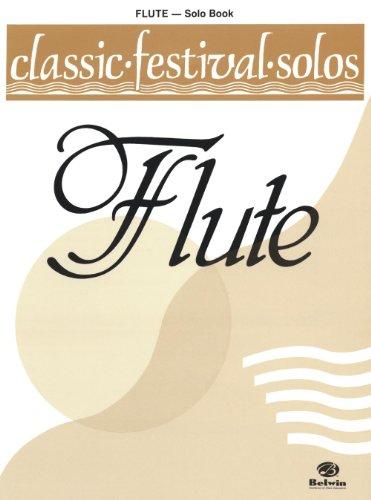 Classic Festival Solos Volume One-Flöte