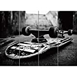 SKATEBOARD GIANT PANEL POSTER PLAKAT DRUCK ART PRINT PICTURE PR202