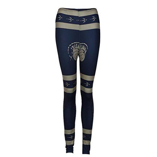 overdose-femmes-dame-occasionnels-maigre-impression-noel-pantalon-extensible-leggings-mince-xl-bleu