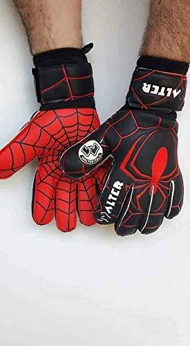 guanti di buffon walter Guanti da Portiere Professionali Modello Spyder (Nero