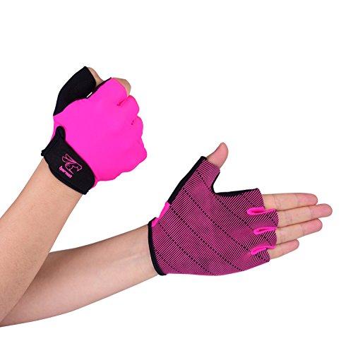 Pink Rudern Handschuhe von Hornet Wassersport–Ideal für Rudern, Skullen, Kajak, SUP, Outrigger Kanu, Dragon Boot und weiteren Wassersportarten (Boot-handschuhe)