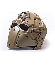 Militar-TLD Casco/Mascara Obsidian B con Montura Norotos TAN Combat Envio Desde España