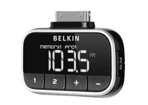 Ipod Radio Fm Dock (Belkin Nano 4G Classic Touch 2G Tune FM Transmitter schwarz)