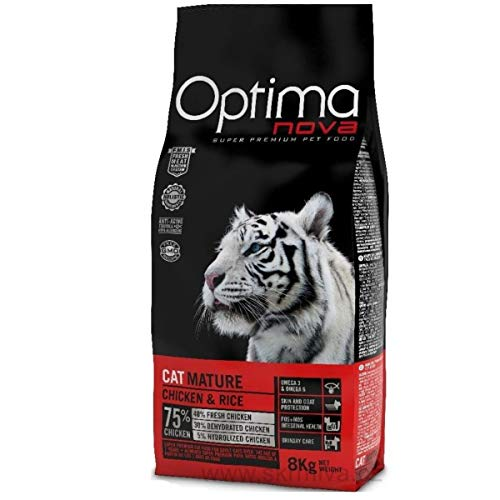 Optima Nova Gato Mature 8 Kg