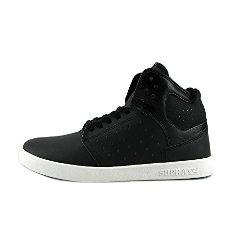 Supra Youths Atom Leather Trainers Noir