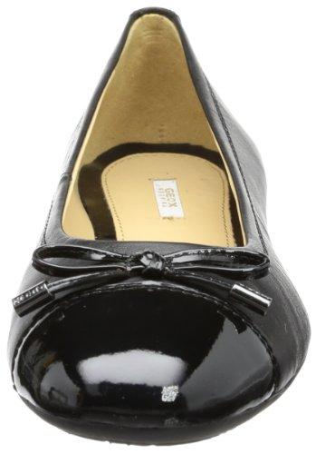 Geox D93M4A 021AK C9272 Donna Lola, Ballerine donna Nero (BLACK C9999)