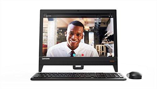 Lenovo Ideacentre 310-20IAP - Ordenador de sobremesa de 19.5' HD (Celeron J3355, 4GB RAM DDR3, 1TB de HDD, Windows Home 10), blanco - Teclado QWERTY español + Ratón USB