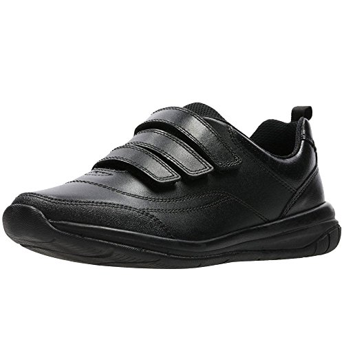 Clarks , Sneakers Basses Mixte Enfant - Noir - Noir, Taille Unique