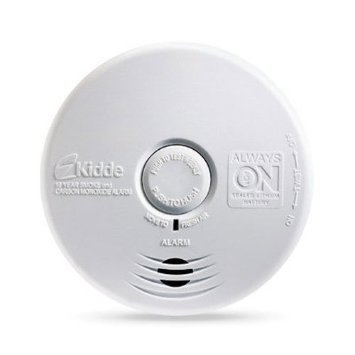 KIDDE P3010K-CO WORRY-FREE KITCHEN PHOTOELECTRIC SMOKE AND CARBON MONOXIDE ALARM WITH 10 YEAR SEALED BATTERY BY KIDDE