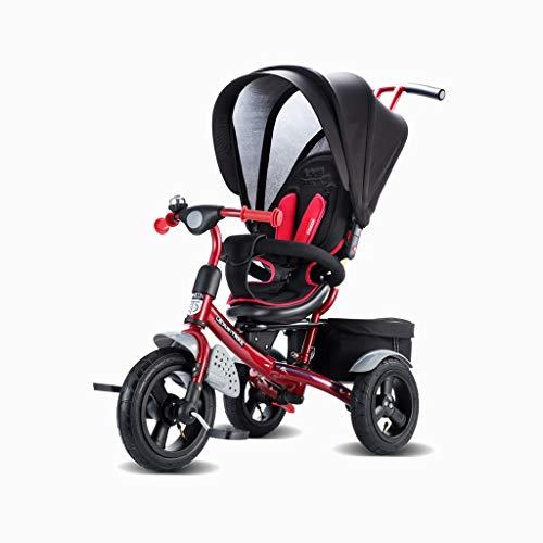 Tricicli Bicicletta Da Esterno For Bambini Con Triciclo For Pneumatici Con Carrelli For Tende Da Sole I Genitori Possono Realizzare Carrelli A 4 Colori Adatti A Bambini Di 1-6 Anni In Sella A Giocatto