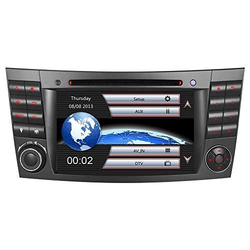 "7\"" AUTORADIO MIT 3G DVD GPS CD Moniceiver GPS Navigation Kartenslot USB Bluetooth CANBUS Dual Zone Subwoofer GPS Antenne DAB Für Mercedes Benz W211 E/G Klasse W219 VMCD RDS"