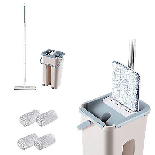 Volwco - Juego fregona cubeta Sistema Limpieza Profesional
