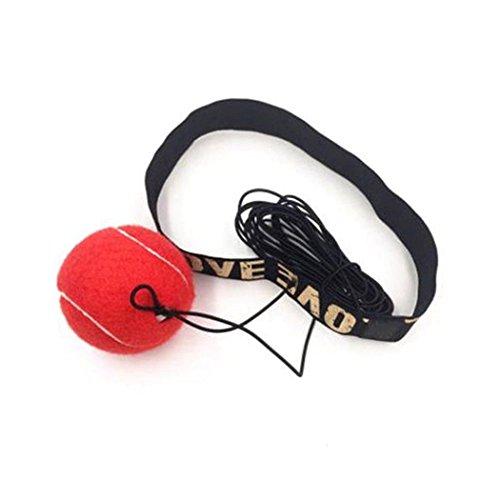 XWB Boxing Punch Übung Kampf Ball mit Kopfband für Reflex Speed Training Fitness Tools zur Verbesserung Reaktionen und Geschwindigkeit