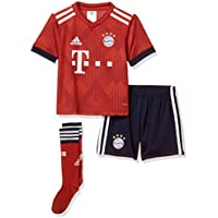 adidas Kinder 18/19 FC Bayern Mini-heimausrüstung