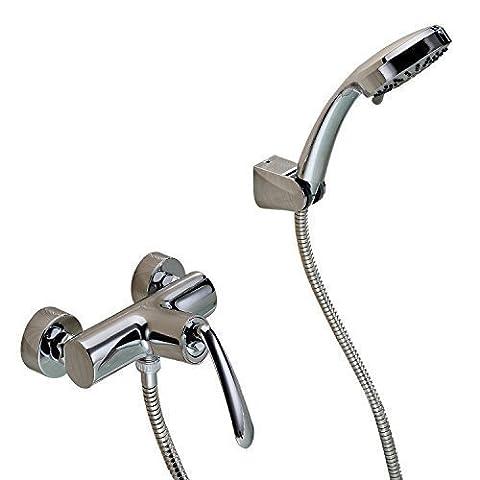 Sprinkle? by Lightinthebox - Contemporary Chrome Finish Centerset Handheld Shower