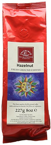 Edinburgh Tea and Coffee Company Hazelnut Ground Coffee 227 g (Pack of 3) 41v4OQARe6L
