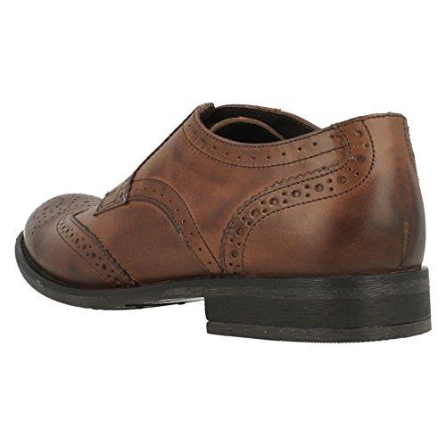 Base Londres. pour Chaussures richelieu MTO chêne Marron - marron