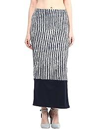 Taurus Women's Blue Pencil Skirt