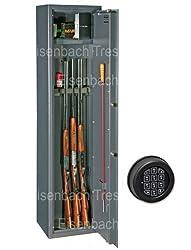 Waffenschrank Stufe A mit Munitionsfach und Elektronikschloss