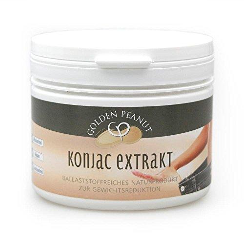 Konjac Pulver Mehl Extrakt Glucomannan E 425 Konjak 300 g Dose
