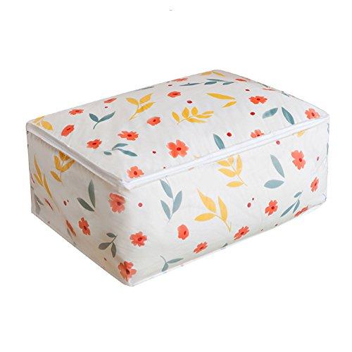 Cosanter Bett-Decken-Aufbewahrungstasche Trage-Tasche für Bettdecken und Kissen 55cm x 36cm x 20cm (Bettdecke Bett-tasche)