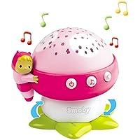 #0618 Musikmobile Lichtprojektor Musik-Pilz Rosa Deckenprojektor mit 4 Melodien • Baby Spielzeug Einschlafhilfe Babybett Spieluhr Pink preisvergleich bei kleinkindspielzeugpreise.eu