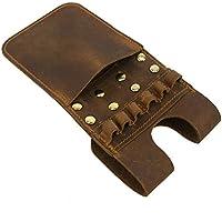 6-arrows ligero Hip bolsillo carcaj cinturón cintura Quiver Sidekick flecha carcaj, canela
