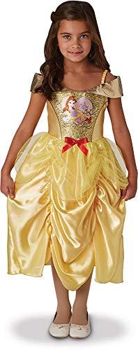 Rubies - Disfraz Oficial de Disney Princesa - Disfraz clásico de Lentejuelas Bellas, Talla LI - 641024L